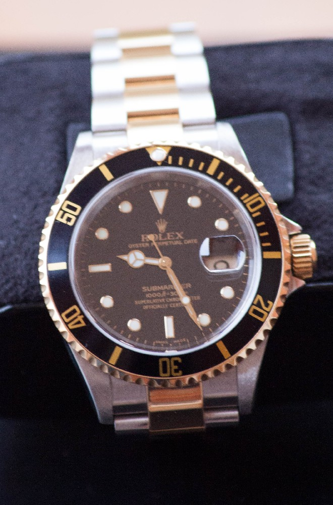 coin des affaires rolex submariner 16613 baisse de prix 4300 euros. Black Bedroom Furniture Sets. Home Design Ideas