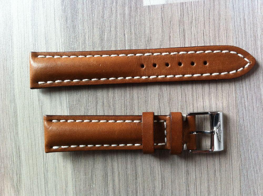 bracelet cuir marron 20mm