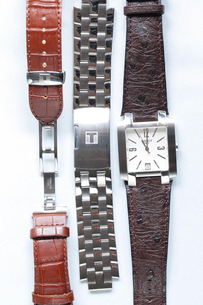 bracelet de montre tissot