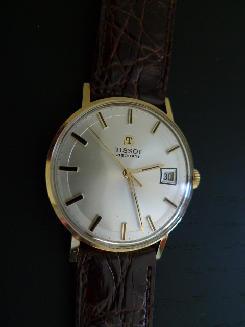 Montre en or tissot for Piscine tissot