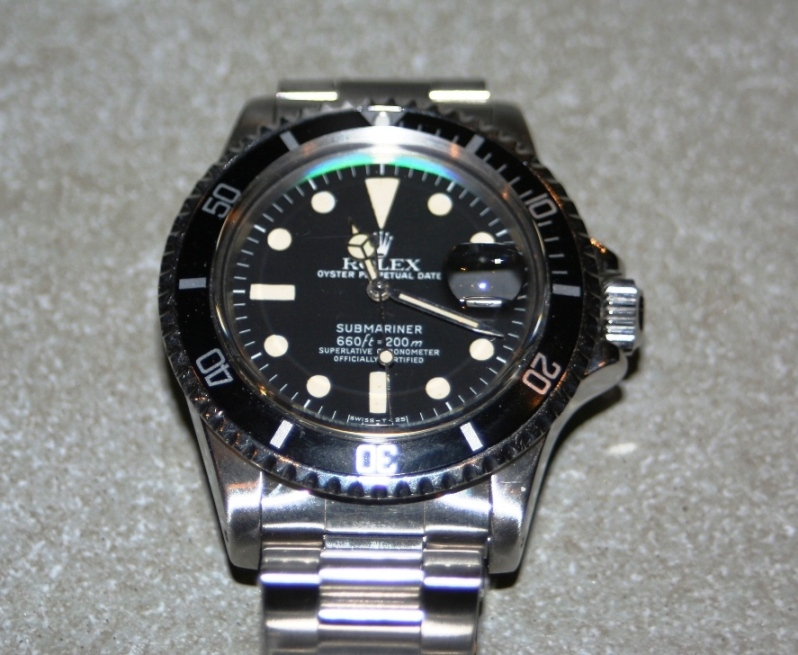coin des affaires baisse des prix rolex submariner ref 1680 4800 euros. Black Bedroom Furniture Sets. Home Design Ideas