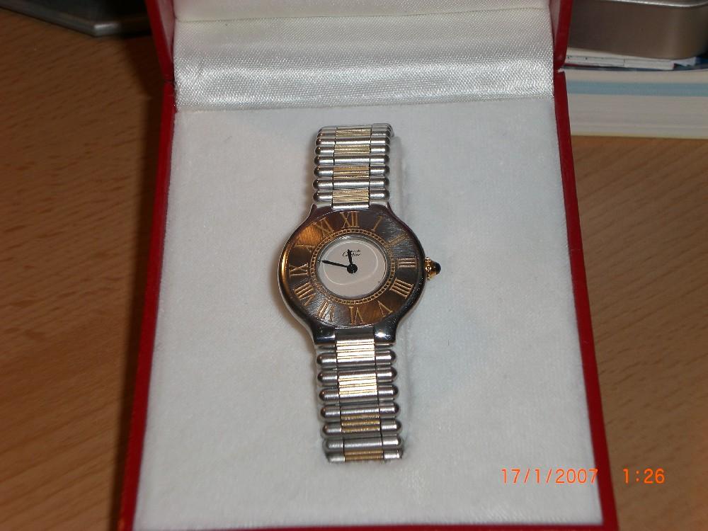 vendre montre cartier