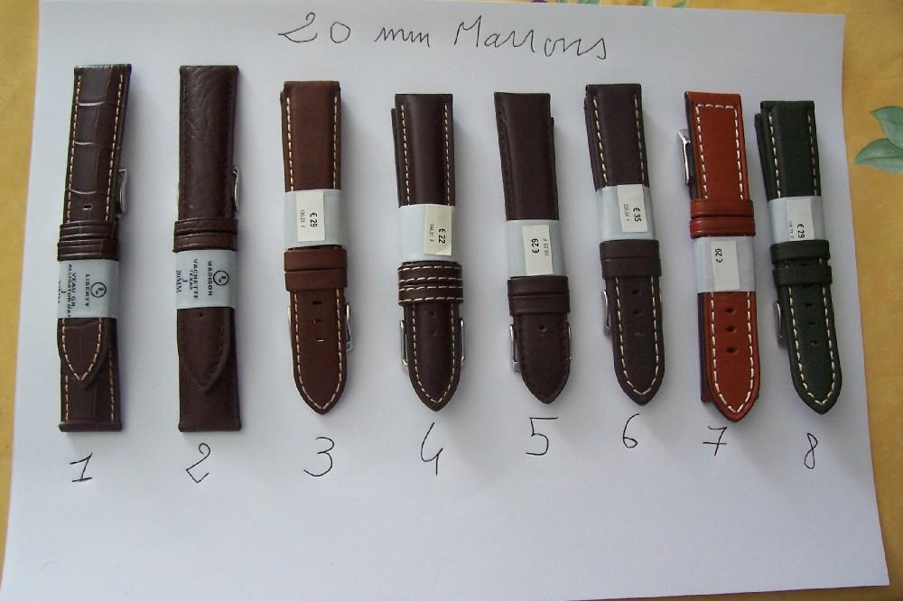 bracelet tissot cuir