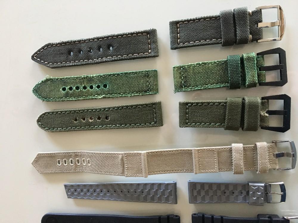 Vends Bracelets Canvas avec boucles Image182922