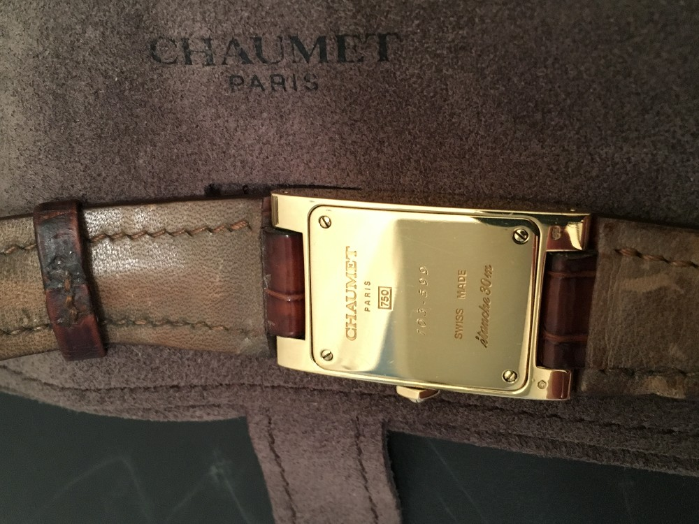 18k Coin Style Des Or Chaumet Affaires Homme n8PkwO0