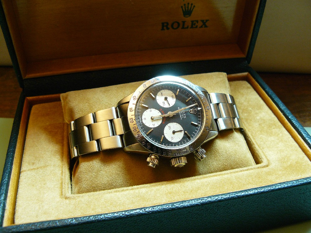 coin des affaires rolex daytona r f 6265 de 1978 baisse de prix. Black Bedroom Furniture Sets. Home Design Ideas