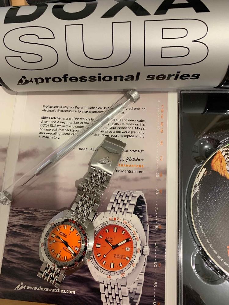 [Vends] Doxa SUB 1200 T Professionel Orange  Image34679