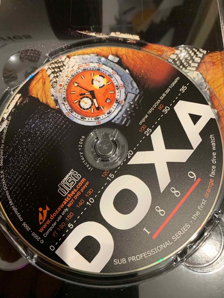 [Vends] Doxa SUB 1200 T Professionel Orange  Image34681