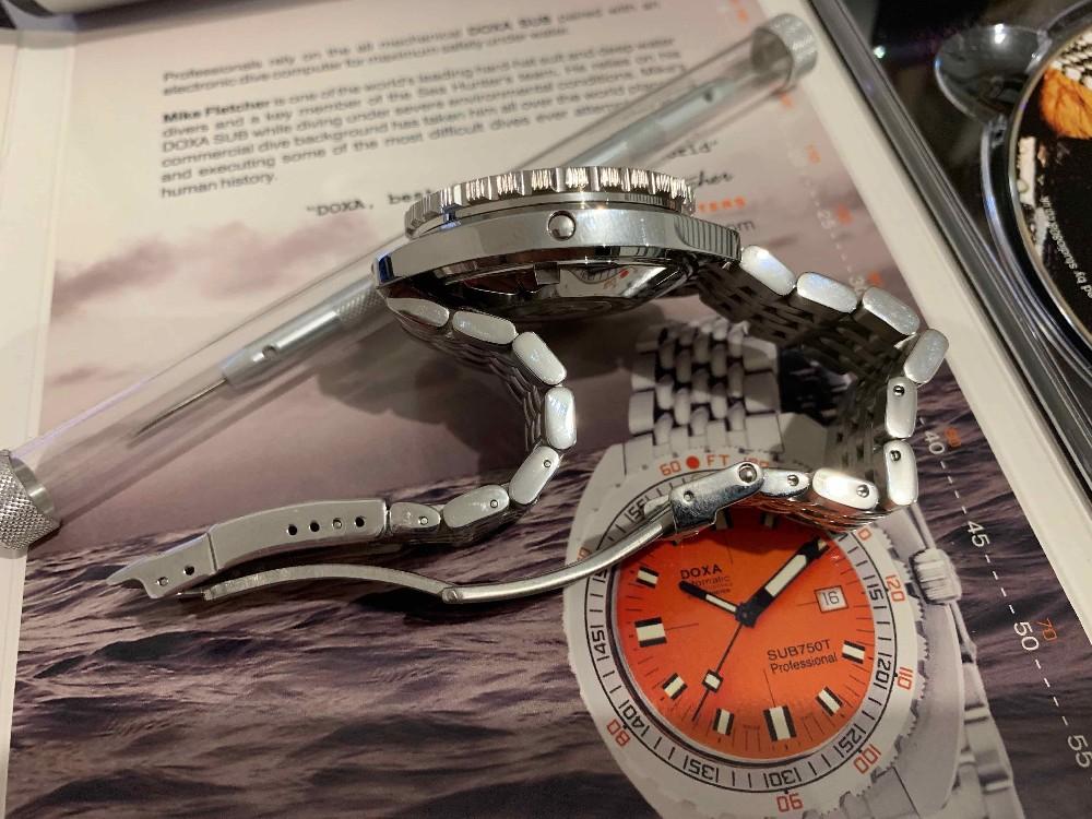 [Vends] Doxa SUB 1200 T Professionel Orange  Image34683