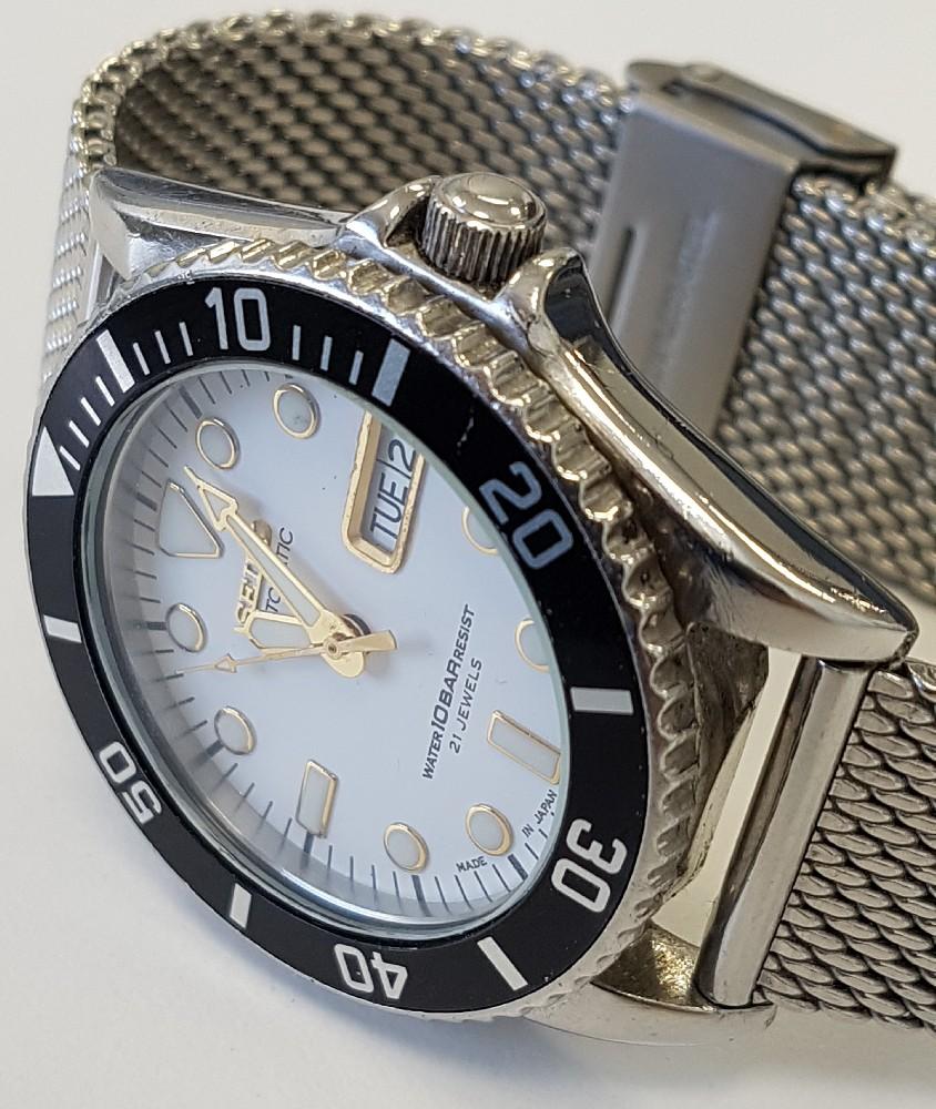 Vends - [Vends] Seiko Diver Skx021 cadran blanc index gilt 36mm - 150 € Image4572