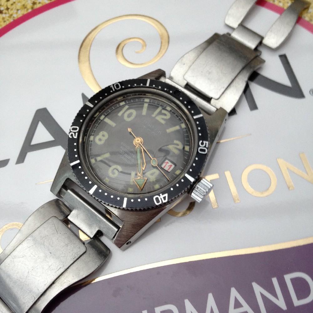 [Vends] Montre plongée sous marine mirfak type dodane aiguilles triton Image4544