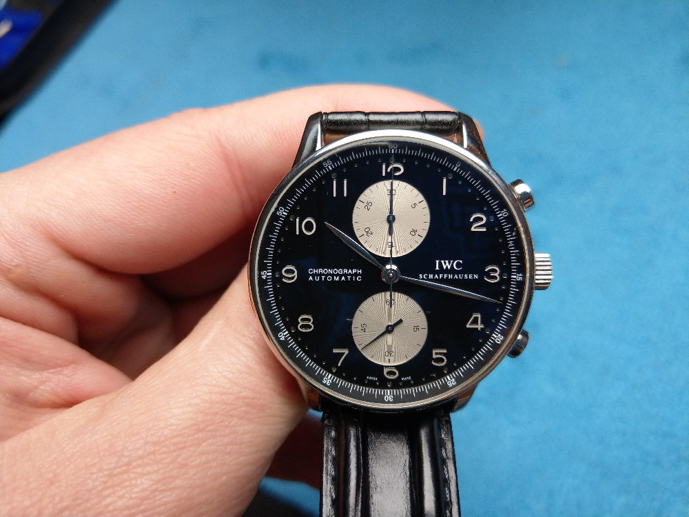 Vends - [Vends] Iwc Portugaise Panda full set - 4200€ Image28620