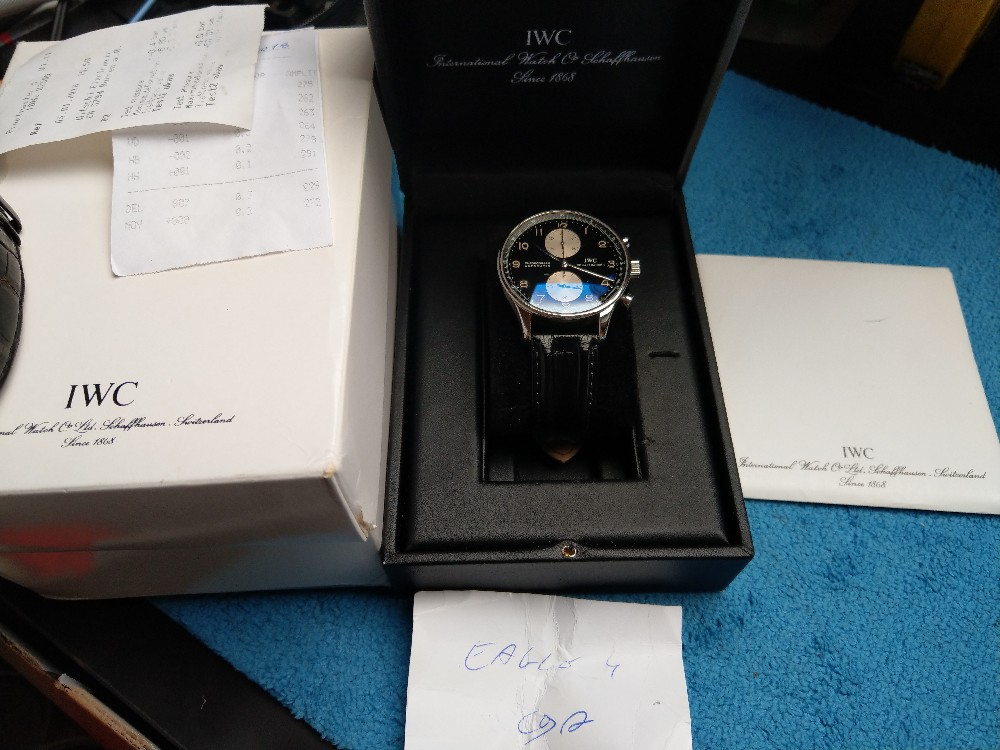 Vends - [Vends] Iwc Portugaise Panda full set - 4200€ Image28622