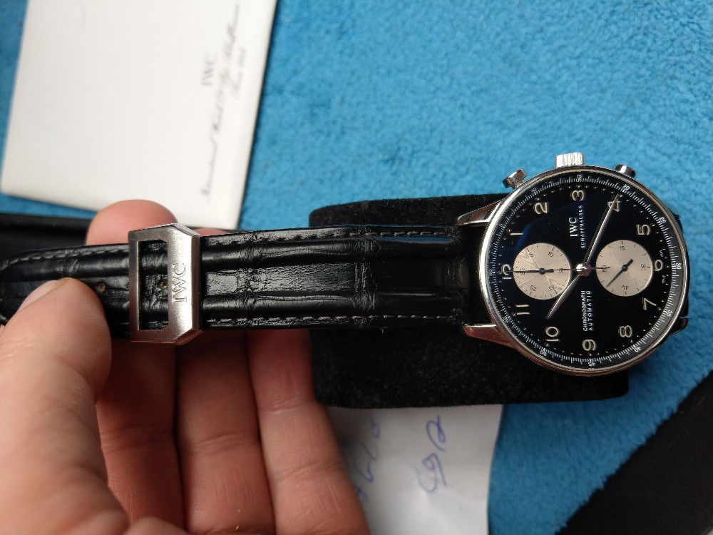 Vends - [Vends] Iwc Portugaise Panda full set - 4200€ Image28623